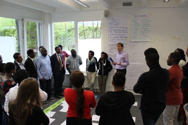 Group execise on development and international politics