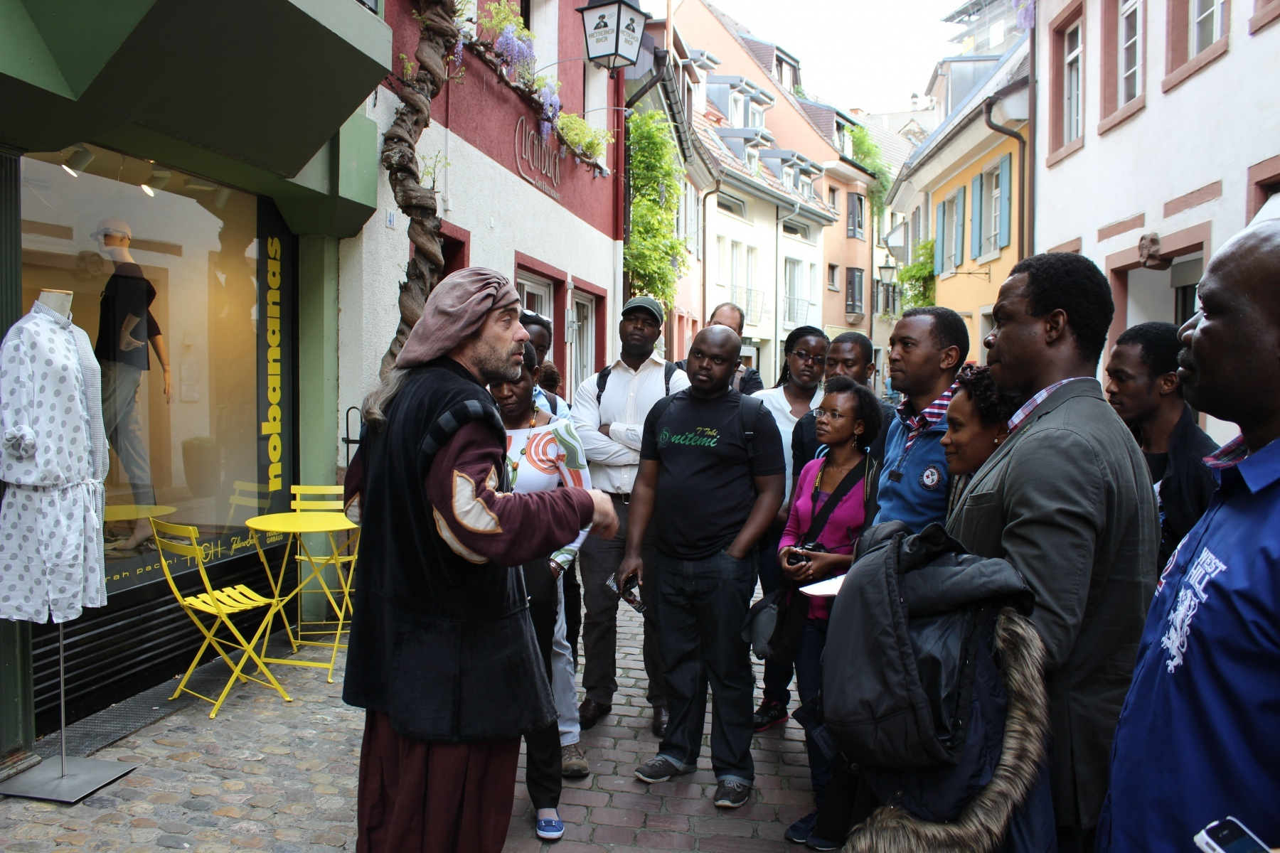 AGGN fellows at a historic city tour in Freiburg/Germany