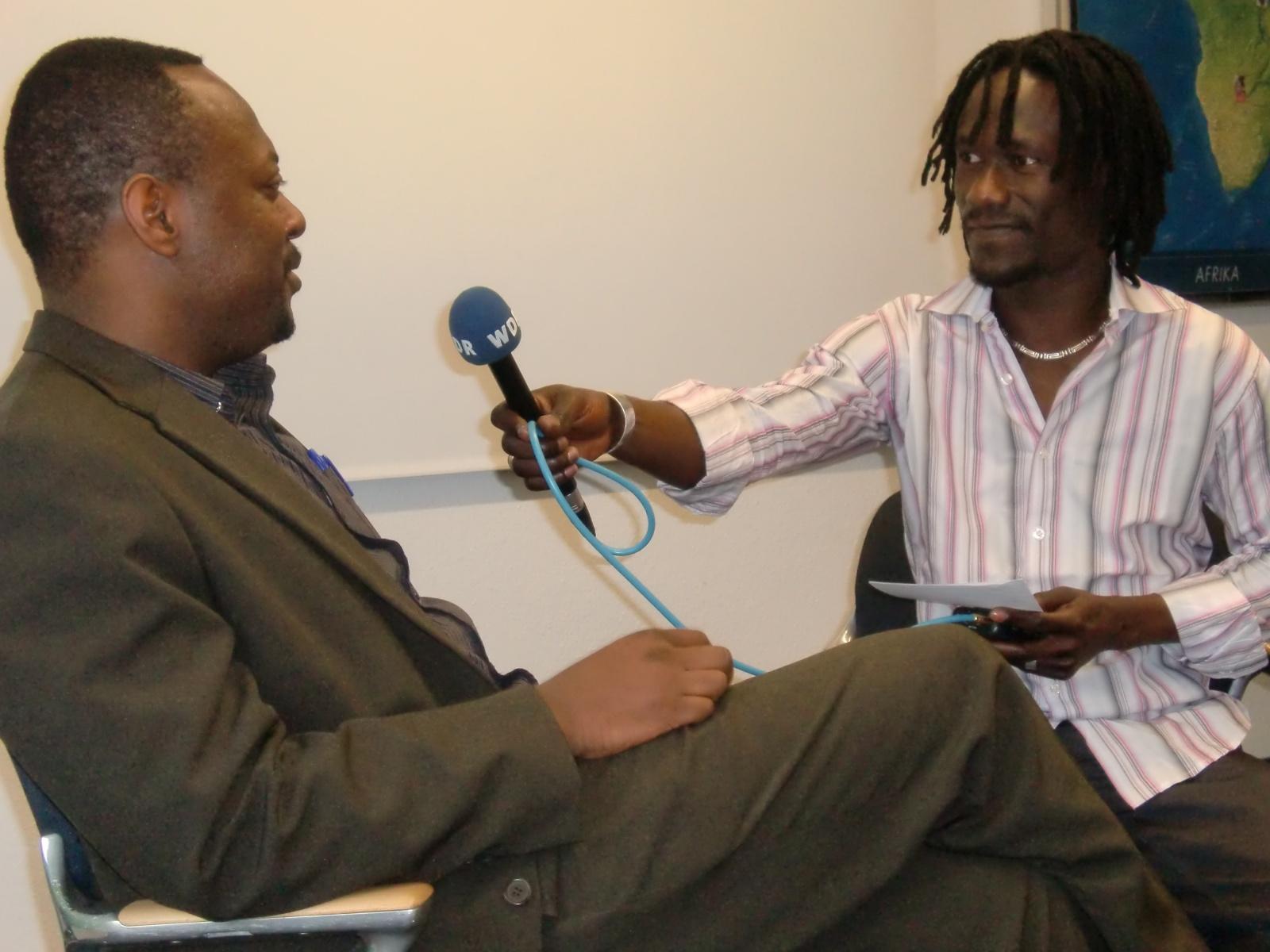 AGGN fellows at a media skills training
