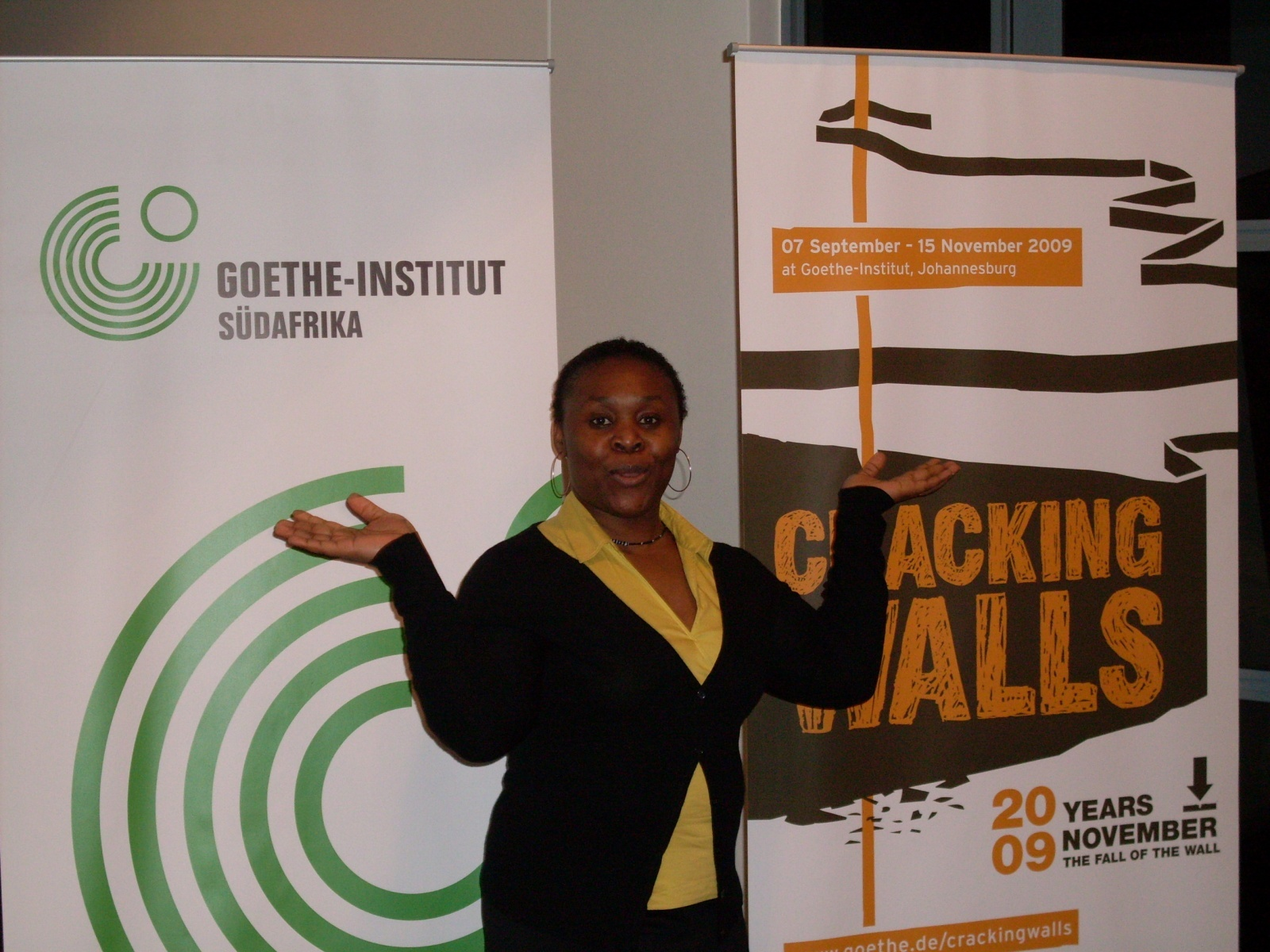 AGGN visiting the Goethe Institute in Johannesburg/South Africa