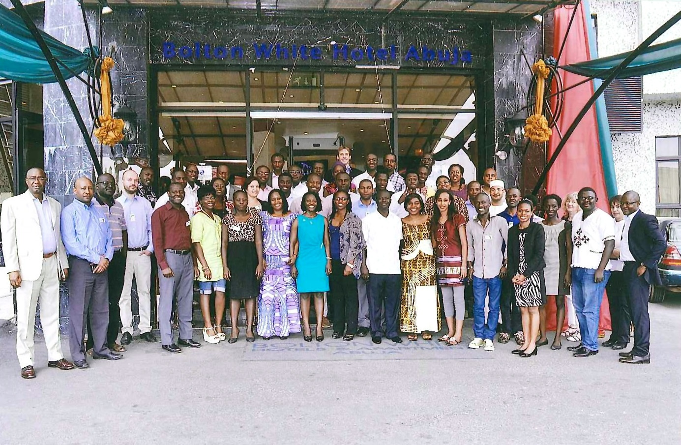 AGGN group picture at a network meeting in Abuja/Nigeria