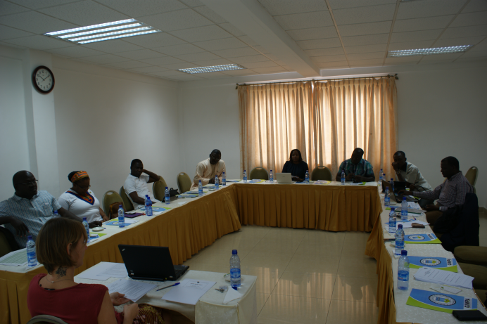 The AGGN Western Africa chapter internal meeting