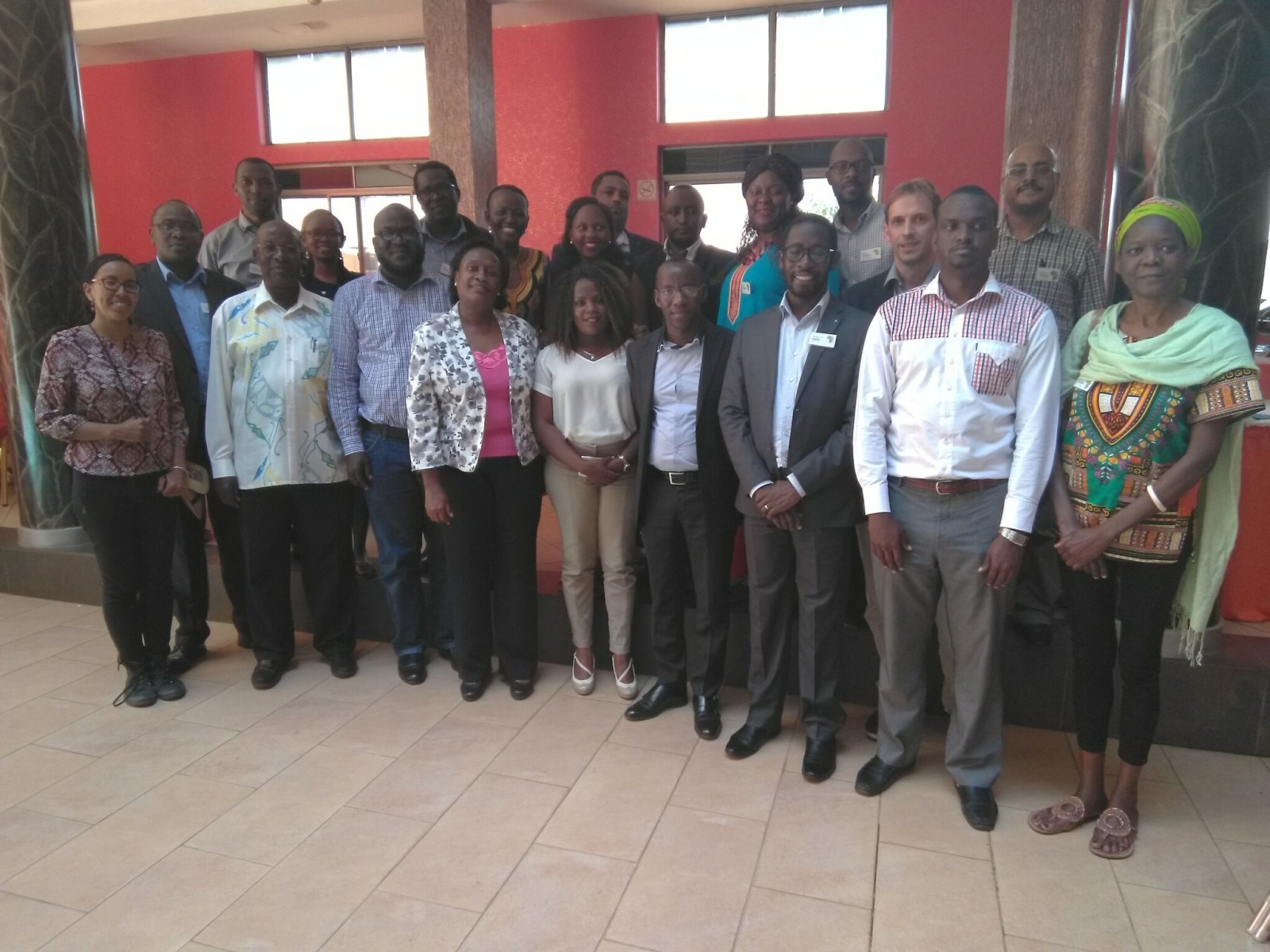 Group picture AGGN Uganda Workshop