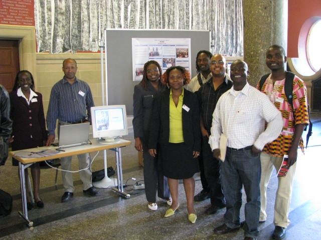 AGGN stand at the annual 2008 VAD conference | Freiburg