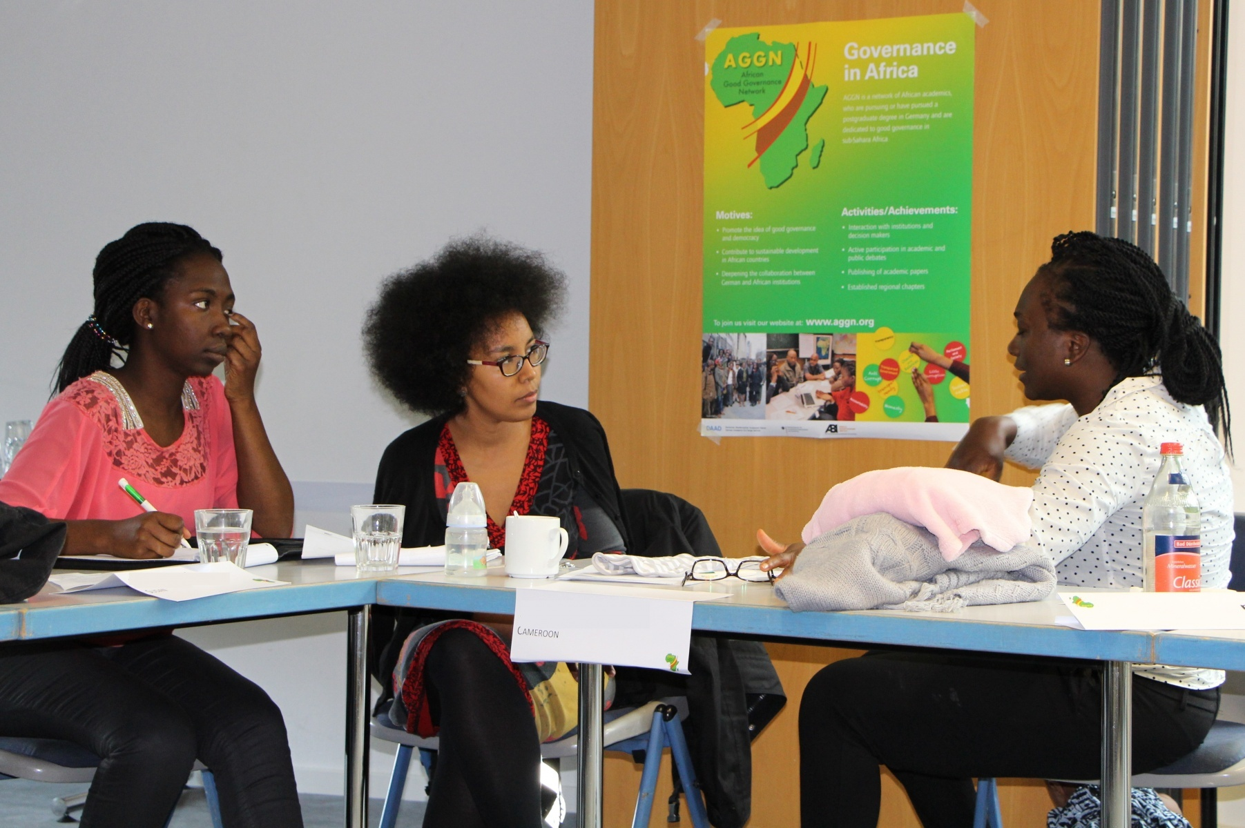 AGGN fellows in discussion