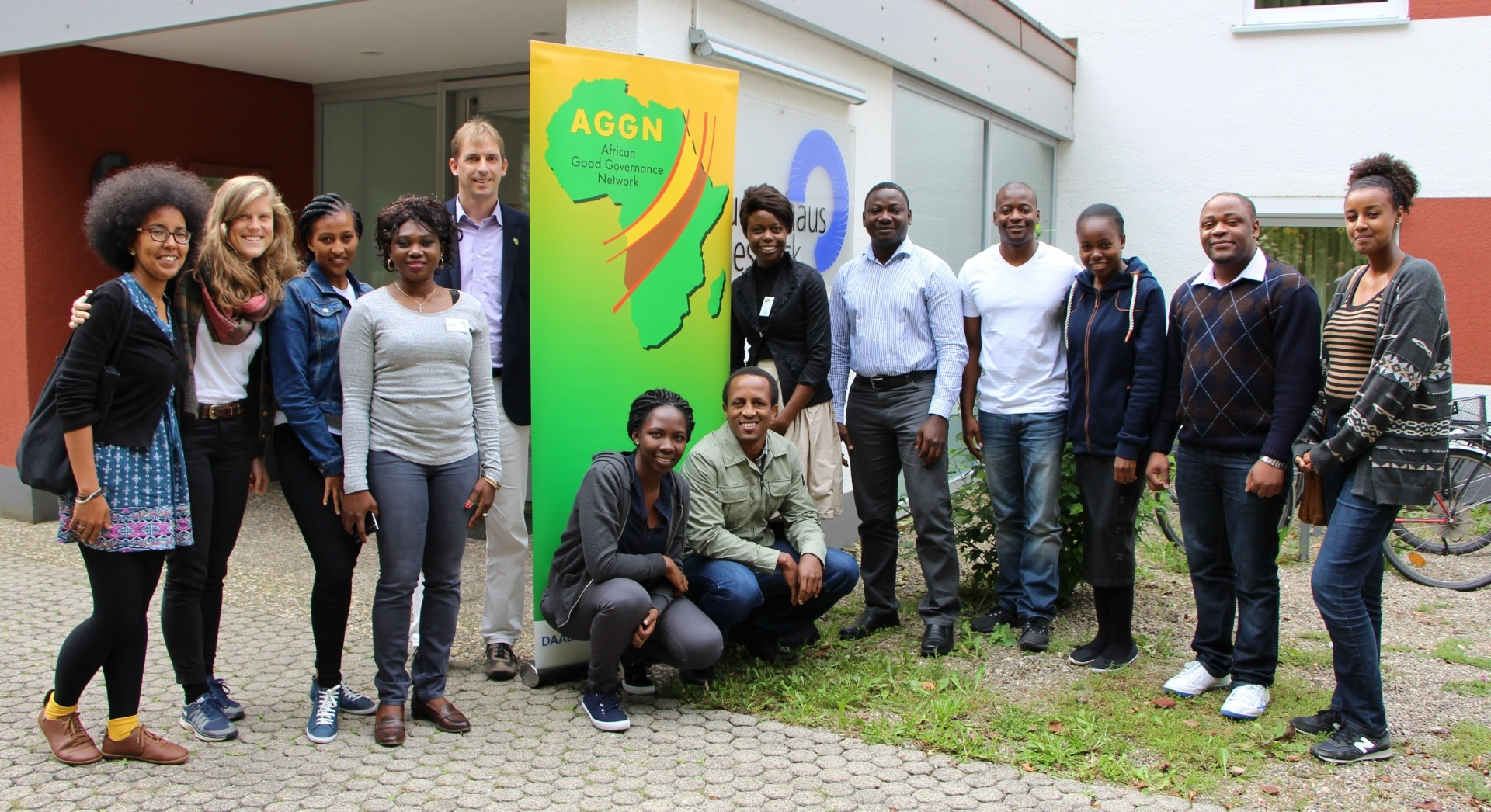 The participating AGGN fellows