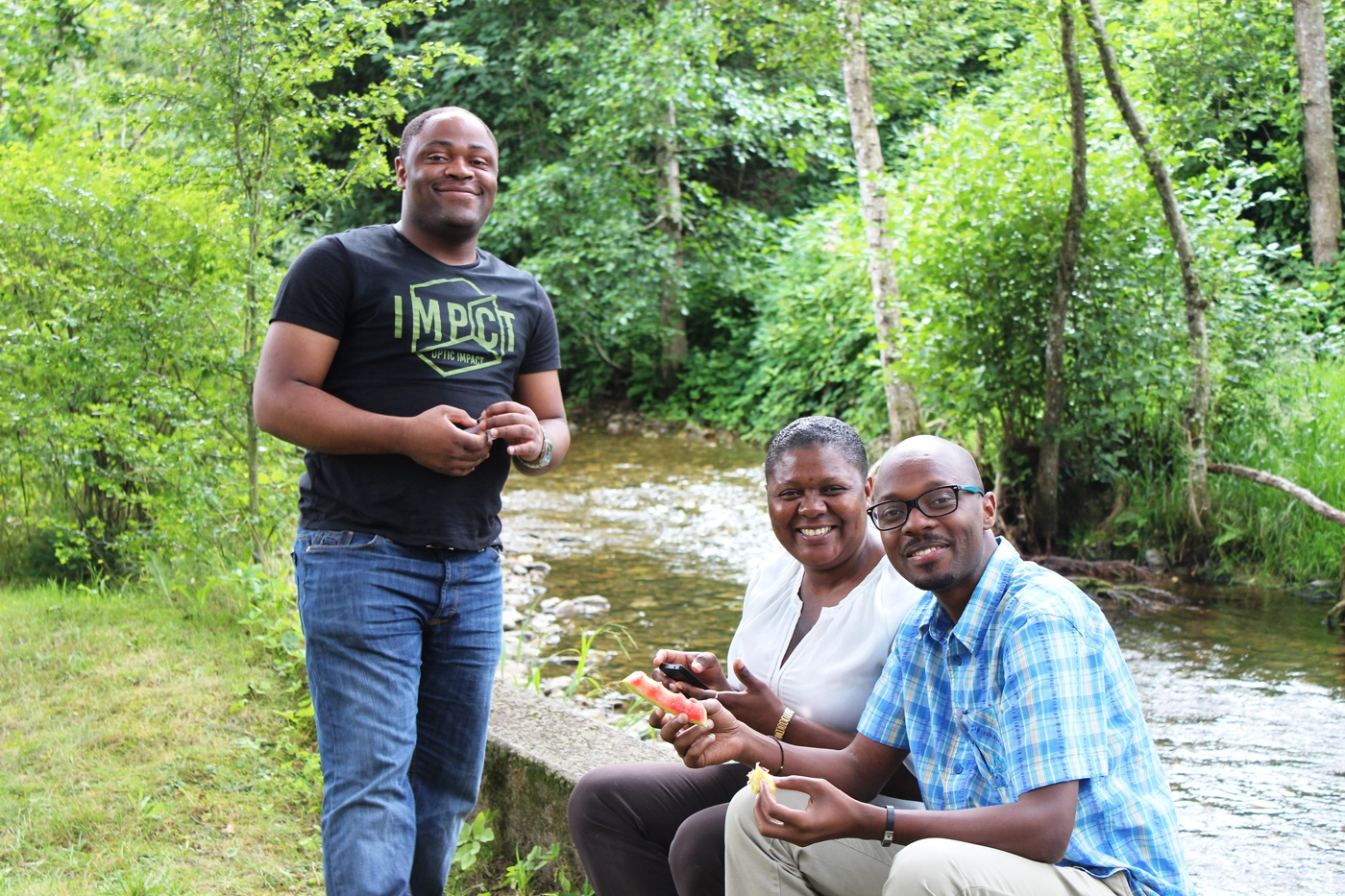 AGGN fellows at a workshop on Environmental Governance in Freiburg/Germany