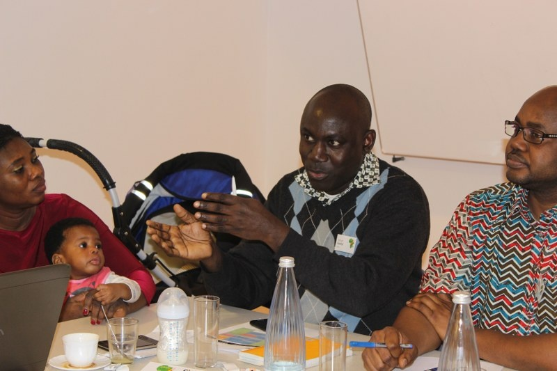AGGN fellows intergenerational discussion