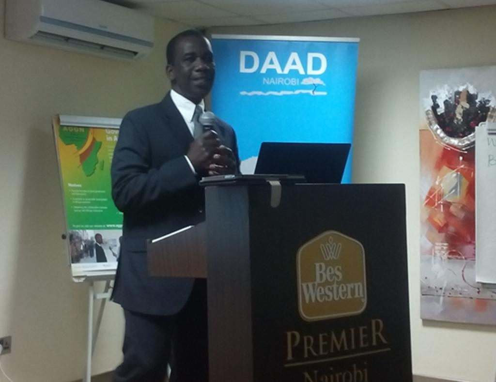 Keynote speech by Pete Ondeng