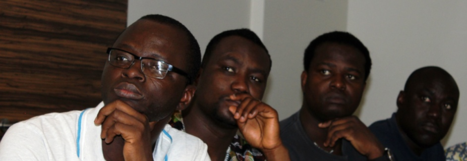 AGGN fellows listening