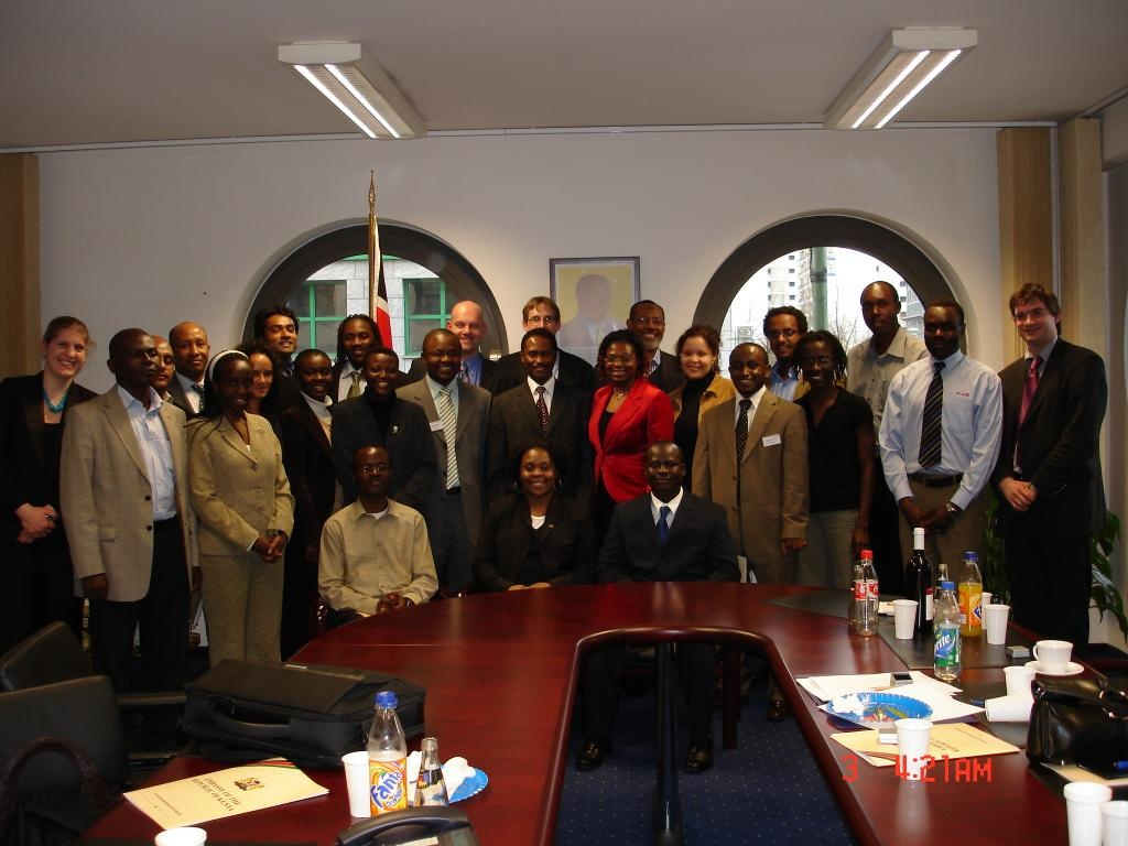 Meeting in the Kenyan embassy | Berlin Workshop