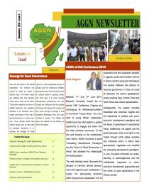 Cover AGGN Newsletter April 2014