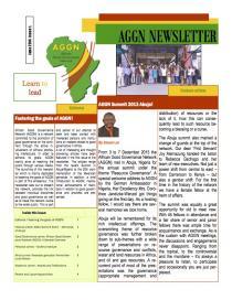 Cover AGGN Newsletter June 2014