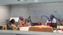 AGGN fellows in the Deutsche Welle studio