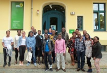 AGGN fellows visiting the Headquarters of the Green Party