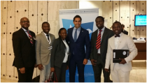 AGGN meets Mr. Ahmed Alhendawi, the UN Secretary-General's Envoy on Youth. Geneva, 21th November 2016. © Photo AGGN delegation in Genf, 2016