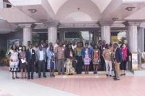 AGGN group in front of conference hotel