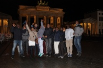 AGGN fellows in front of the Berlin's Brandenburger Tor