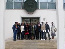Participants in front of the Bundesrechnungshof | Bonn Workshop