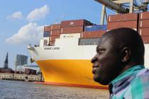 """Grande Lagos"" at Hamburg harbour boat trip"